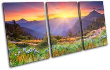 Sunset Mountains Landscapes - 13-0273(00B)-TR21-LO